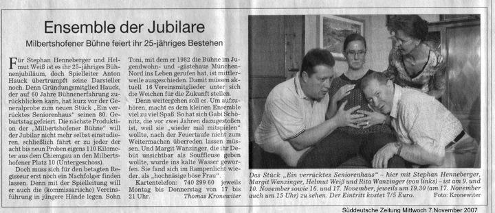 2007 - Süddeutsche Zeitung